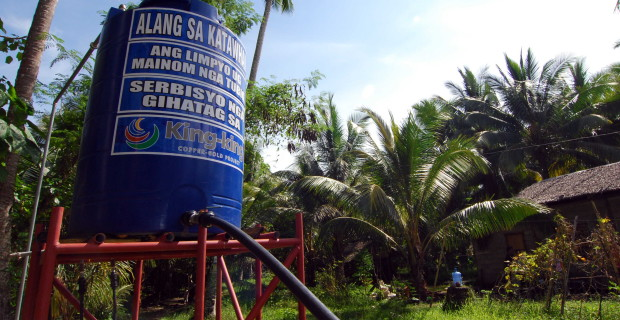 Pantukan villages now have access to fresh, potable water
