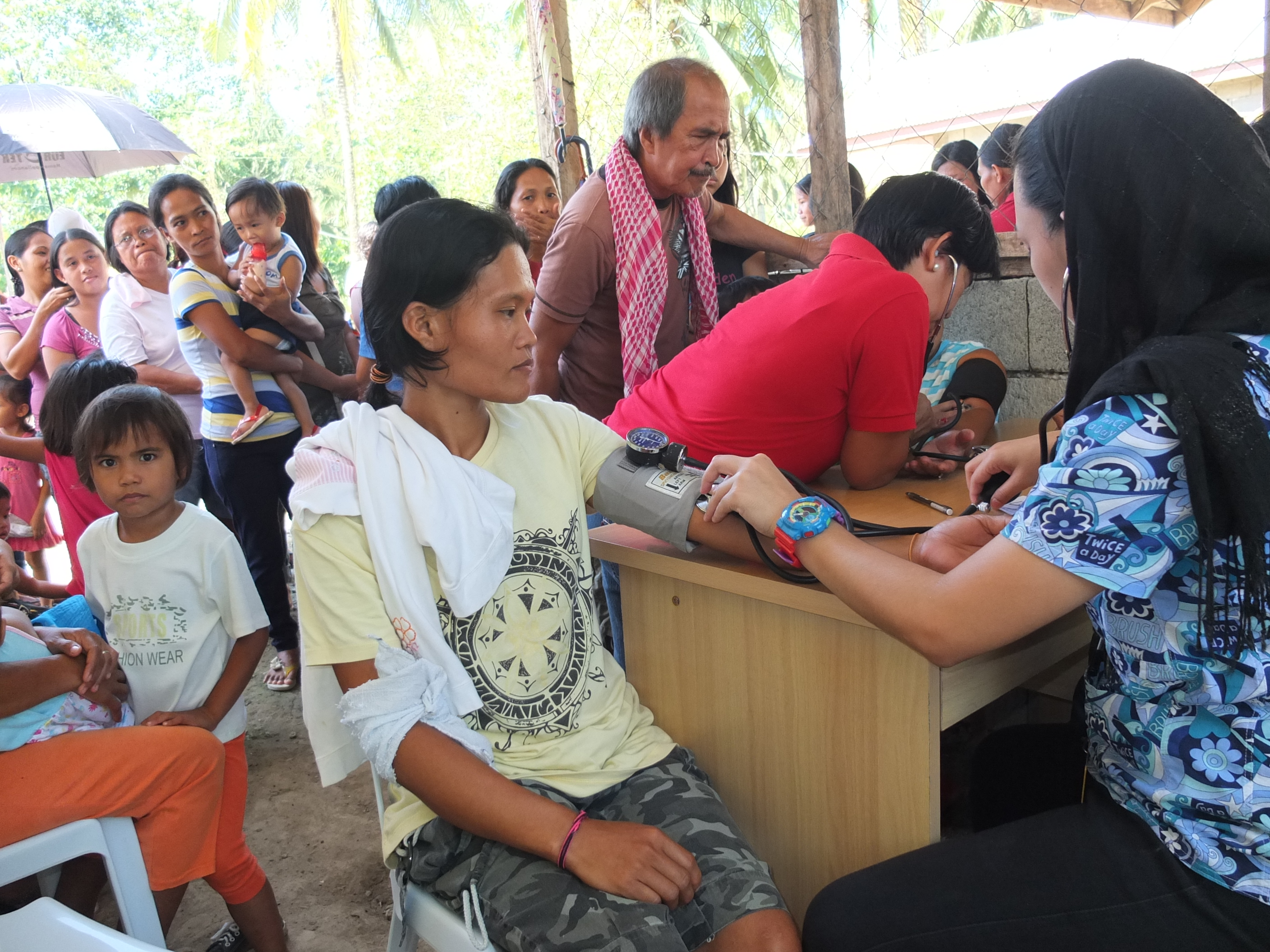 Among KCGP�s objectives is to deliver free health and medical care and services to financially constrained community members of Pantukan and provide medicine to those diagnosed with ailments, including immunization of infants and small children to safeguard them against diseases.